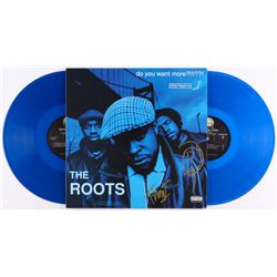 """Questlove  Black Thought Signed The Roots """"Do You Want More?!!!??!"""" Vinyl Record Album (JSA COA)"""
