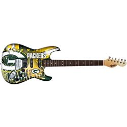 Aaron Rodgers Signed Packers Electric Guitar (Steiner COA)