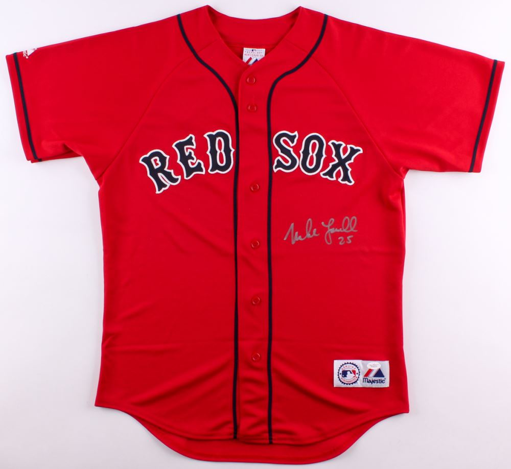 Image 1   Mike Lowell Signed Red Sox Jersey (JSA COA) e5bb7dc5f2f
