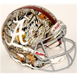 AJ McCarron Signed Alabama Full-Size Authentic On-Field Speed Helmet (Radtke COA)