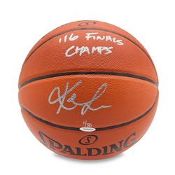 "Kevin Love Signed LE Basketball Inscribed ""'16 Finals Champs"" (UDA COA)"
