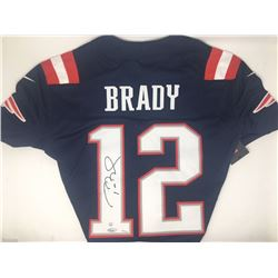 Tom Brady Signed Limited Edition Patriots Nike Jersey (TriStar  Steiner)