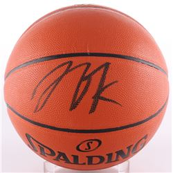 Jahlil Okafor Signed Game Ball Series Basketball (Schwartz COA)
