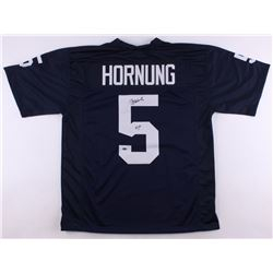 "Paul Hornung Signed Notre Dame Fighting Irish Jersey Inscribed ""56H."" (Schwartz COA)"