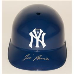 Tim Raines Signed Yankees Full-Size Batting Helmet (JSA COA)
