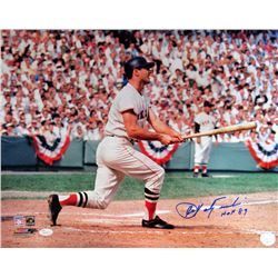 "Carl Yastrzemski Signed Red Sox 16x20 Photo Inscribed ""HOF 89"" (JSA Hologram)"