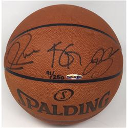 Kevin Garnett, Ray Allen  Paul Pierce Signed Limited Edition Basketball (UDA COA)