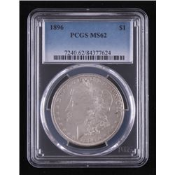 1896 Morgan Silver Dollar (PCGS MS62)