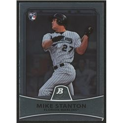 2010 Bowman Platinum #86 Mike Stanton RC