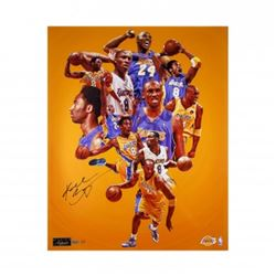 Kobe Bryant Signed Lakers  Greatness  24x30 Limited Edition Photo (Panini COA)