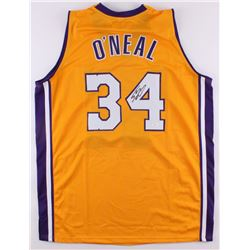 Shaquille O'Neil Signed Lakers Jersey (JSA Hologram)