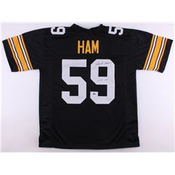 "Jack Ham Signed Packers Jersey Inscribed ""HOF 88"" (Schwartz COA)"