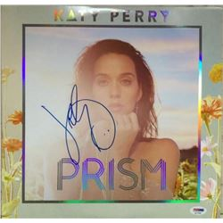 "Katy Perry Signed ""Prism"" Vinyl Record Album (PSA COA)"