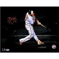 Manny Machado Signed Orioles 11x14 Photo (Fanatics)