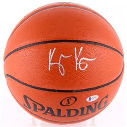 Kyle Kuzma Signed NBA Game Ball Series Basketball (Beckett COA)