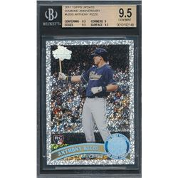 2011 Topps Update Diamond Anniversary #US55 Anthony Rizzo (BGS 9.5)
