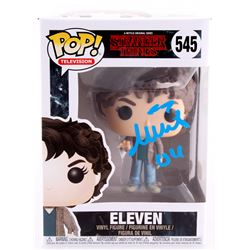 "Millie Bobby Brown Signed Stranger Things ""Eleven"" Funko Pop Figure Inscribed ""011"" (JSA COA)"