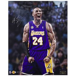 Kobe Bryant Signed Lakers 16x20 LE Photo (Panini COA)