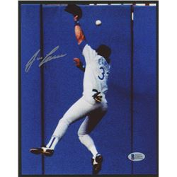 Jose Canseco Signed Rangers 8x10 Photo (Beckett COA)
