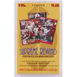 2015 Supreme Rewind Football Hobby Box (Factory Sealed)