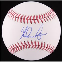 Nolan Ryan Signed OML Baseball (Ryan Hologram  Radtke COA)