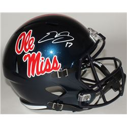 Evan Engram Signed Ole Miss Rebels Full-Size Speed Helmet (Radtke COA)