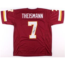 "Joe Theismann Signed Redskins Jersey Inscribed ""SB XVII Champs"" (JSA COA)"