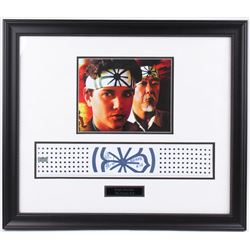 "Ralph Macchio Signed ""Karate Kid"" 21x25 Custom Framed Headband Inscribed ""Karate Kid"" (Radtke COA)"