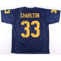 Taco Charlton Signed Michigan Wolverines Jersey (Radtke COA)