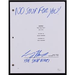 "Larry Thomas Signed ""Seinfeld: The Soup Nazi"" Full Episode Script Inscribed ""No Soup For You!""  ""The"