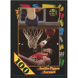 1991-92 Wild Card 100 Stripe #83 Scottie Pippen