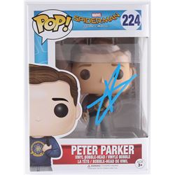 "Tom Holland Signed ""Peter Parker"" Vinyl Bobble-Head Funko Pop Figure (JSA Hologram)"