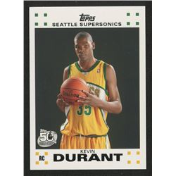 2007-08 Topps Rookie Set #2 Kevin Durant