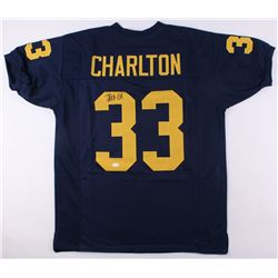 Taco Charlton Signed Michigan Wolverines Jersey (JSA COA)
