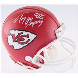 Tony Gonzalez Signed Chiefs Mini-Helmet (JSA COA)