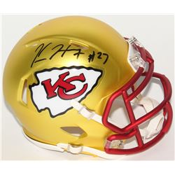 Kareem Hunt Signed Chiefs Speed Mini-Helmet (Hunt Hologram)