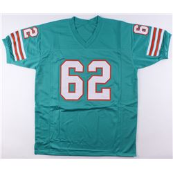 "Jim Langer Signed Dolphins Jersey Inscribed ""'87"" (SGC COA)"