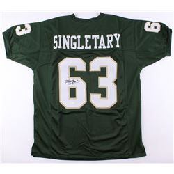 "Mike Singletary Signed Baylor Bears Jersey Inscribed ""CHOF 95"" (JSA COA)"