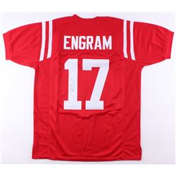 Evan Engram Signed Ole Miss Rebels Jersey (JSA COA)