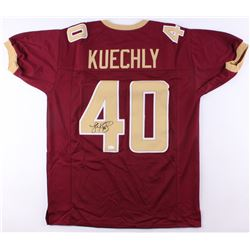 Luke Kuechly Signed Boston College Eagles Jersey (JSA COA)