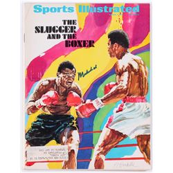 Muhammad Ali Signed 1971 Sports Illustrated Magazine (Online Authentics COA)