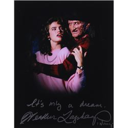 "Heather Langenkamp Signed ""Nightmare on Elm Street"" 11x14 Photo Inscribed ""It's Only a Dream""  ""Nanc"