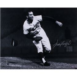 Sandy Koufax Signed Dodgers 16x20 Photo (Online Authentics COA)