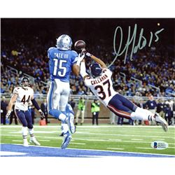 Golden Tate Signed Lions 8x10 Photo (Beckett COA)