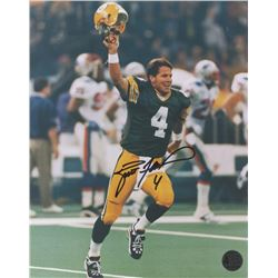 Brett Favre Signed Packers Super Bowl XXXI 8x10 Photo (Favre COA)