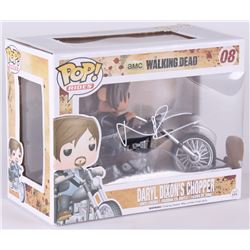 "Norman Reedus Signed The Walking Dead ""Daryl Dixons Chopper"" Funko Pop Figure (Radtke COA)"