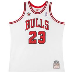 Michael Jordan Signed Limited Edition Bulls 1998 NBA All Star Authentic Mitchell  Ness Jersey Inscri