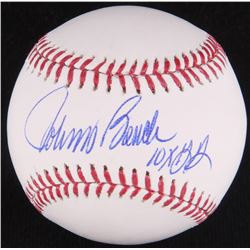 "Johnny Bench Signed OML Baseball Inscribed ""10x GG"" (Radtke COA)"