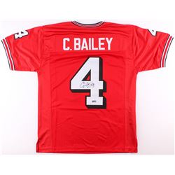 Champ Bailey Signed Georgia Jersey (Radtke COA)