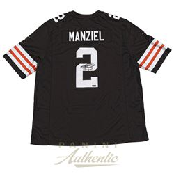 Johnny Manziel Signed Browns Nike Jersey (Panini COA)